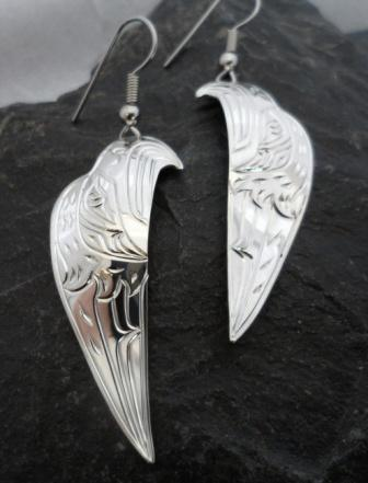 Northwest Coast Native Sterling Silver Jewelry from Canada.
