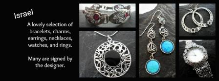 Israel Sterling Silver Jewelry