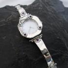 Sterling Silver Amethyst Watch