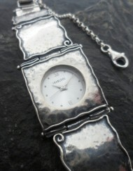Designer Sterling Silver Watch