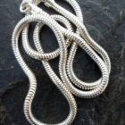 Italian Sterling Silver Flexible Snake Chain