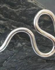 Sterling Silver Wavy Cuff Bracelet
