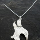 Sterling Silver Native Hummingbird Necklace