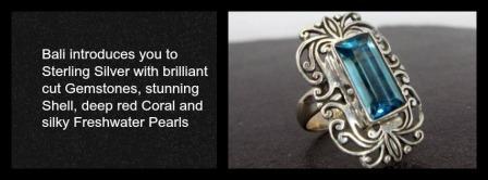 Bali Sterling Silver Jewelry
