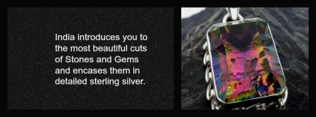 gemstone sterling silver jewelry