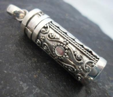 Sterling Silver Cremation Pendant