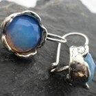 Sterling Silver Opalite Earrings