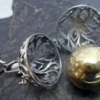 Filigree Sterling Silver Harmony Ball Pendant