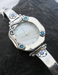 Sterling Silver and Gemstone Watches