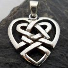 Sterling Silver Celtic Heart Pendant